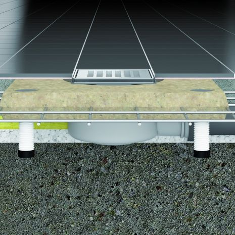 Ultra-flat and ultra-safe - the new CeraDrain® Plan floor drain