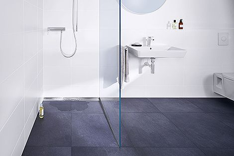 CeraFloor Pure shower channel