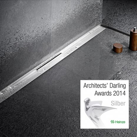 Dallmer is Architects' Darling 2014  silver in the category 'Best Product Innovation'