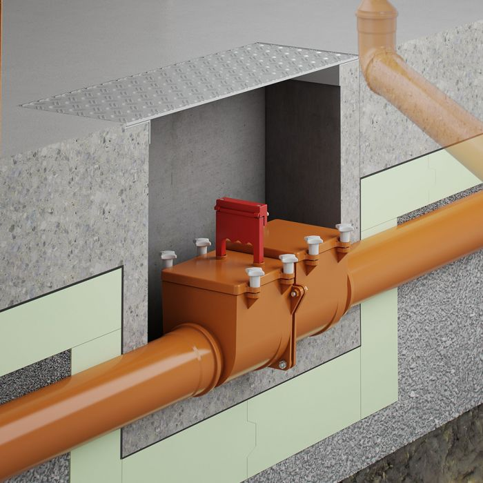 Anti-flooding valves and cellar drains