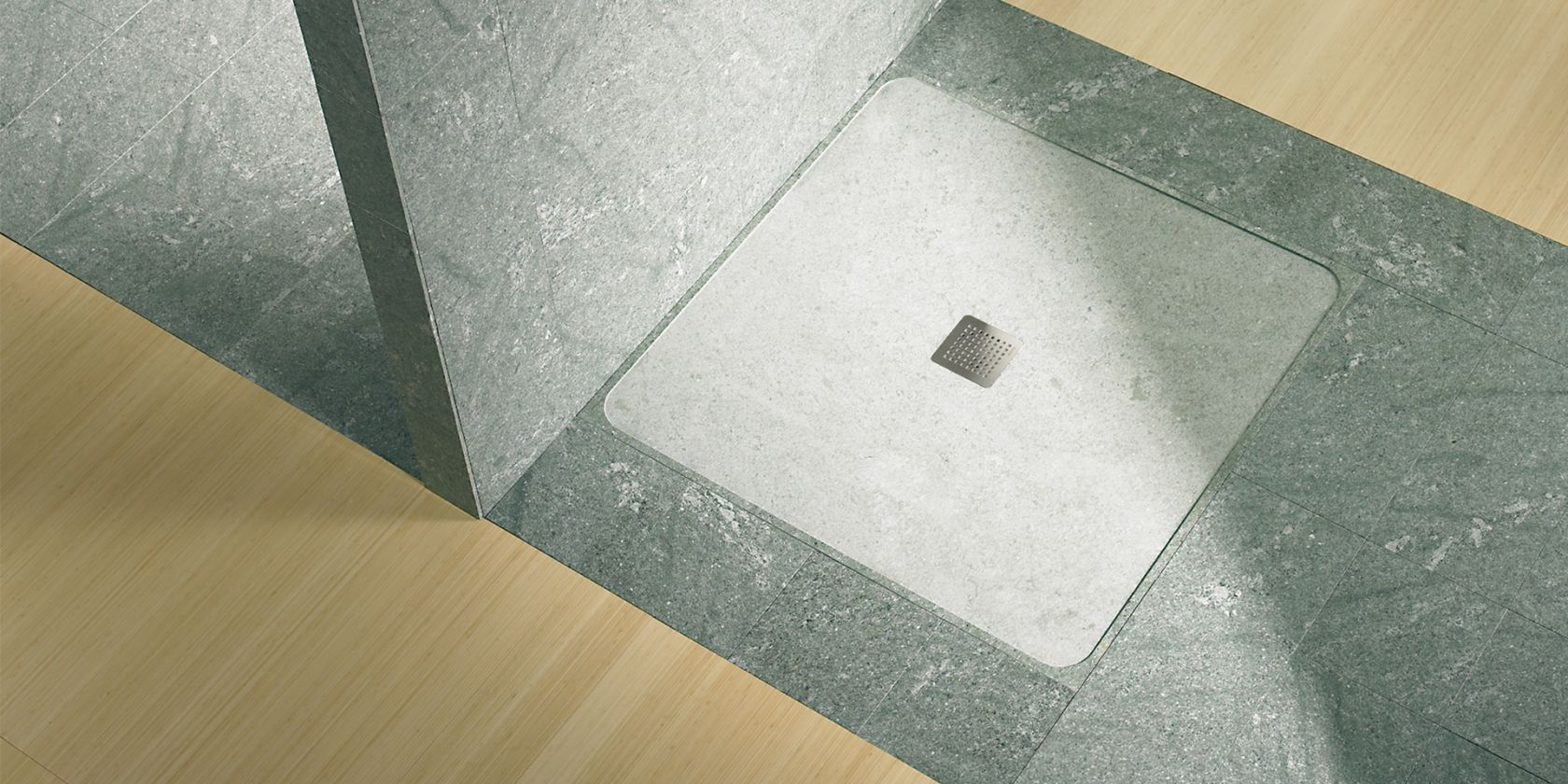 32 N / 30 N. Specially for natural stone shower trays