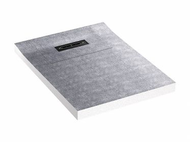 shower underlay DallFlex Floor Plan D, DN 40, 0,9 x 1,2 m