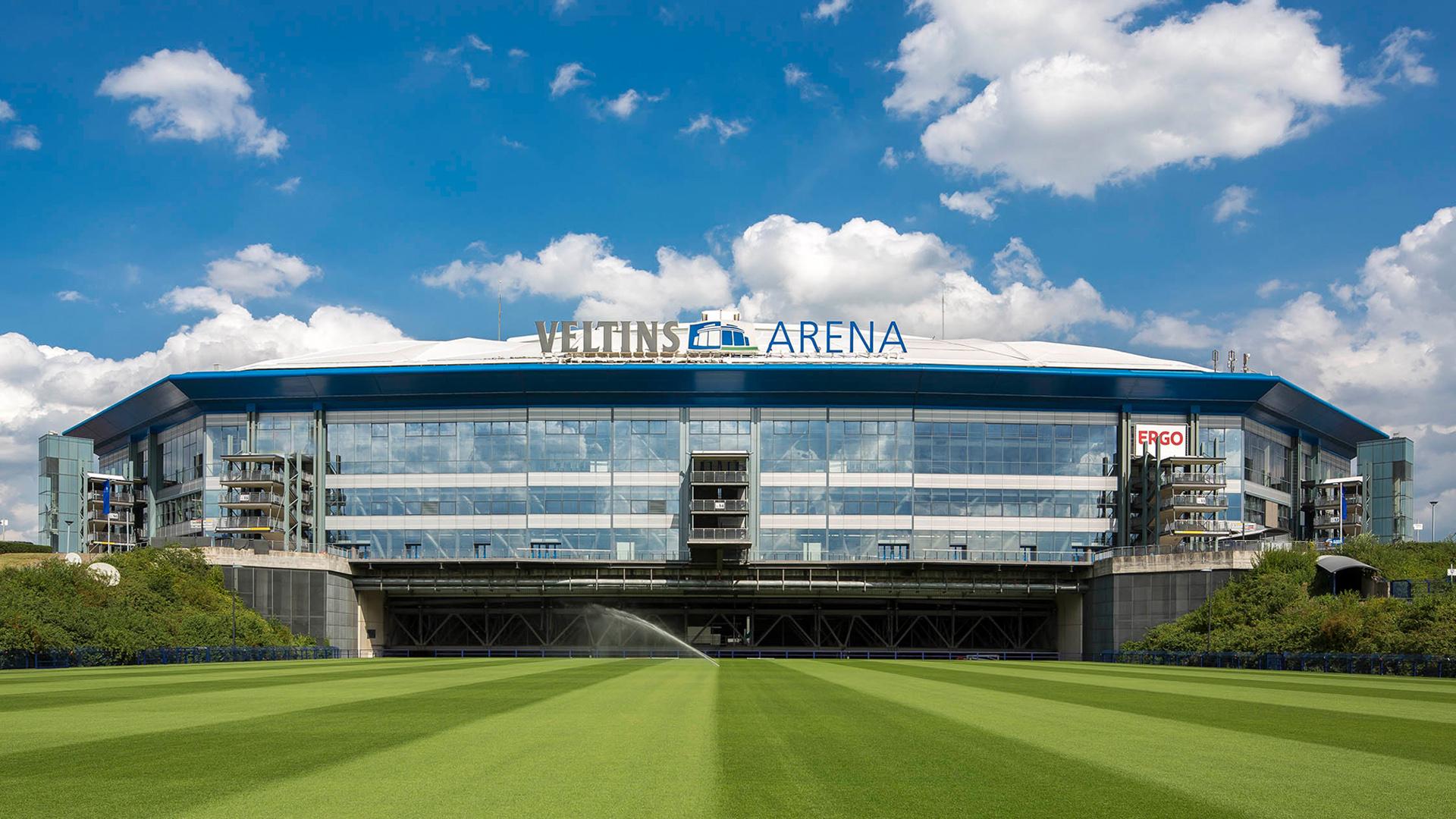 Veltins Arena Parkplatz P1