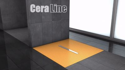 CeraLine F shower channel